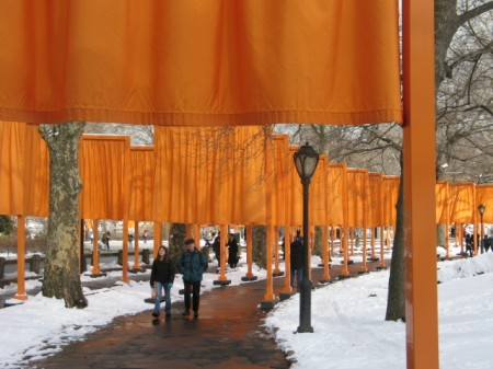 The Gates, Christo, Central Park, NYC