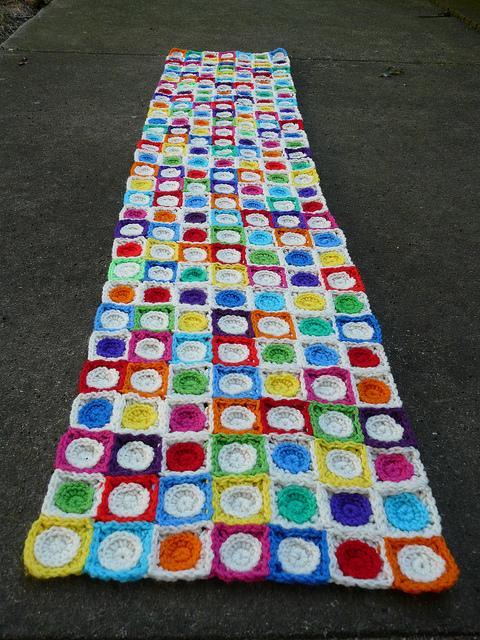 crochet hilbert curve