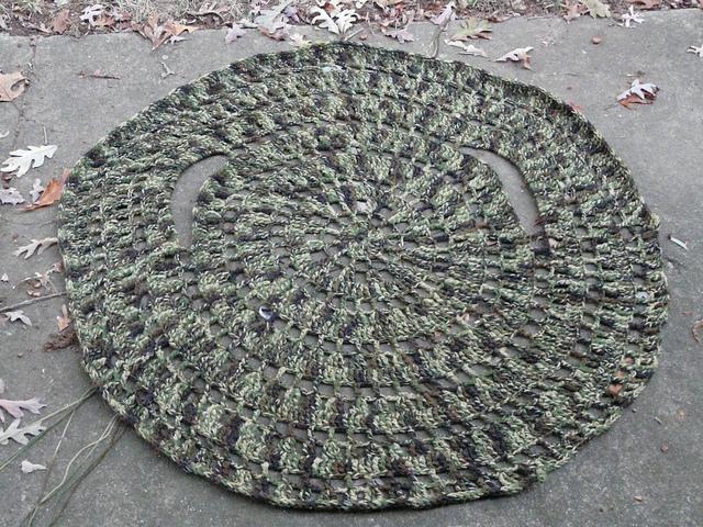 crochet circle jacket, crochetbug, crochet circles, crochet jacket, camouflage, crochet sweater