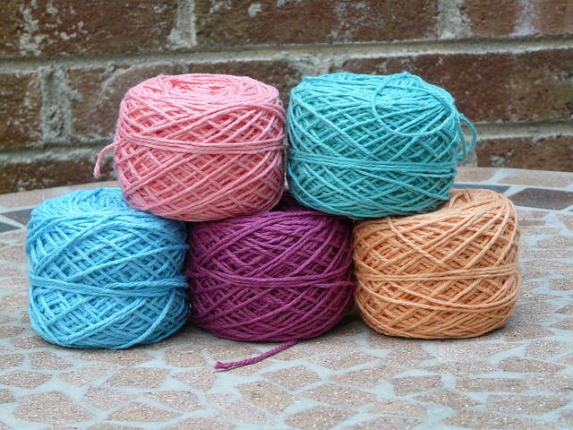 crochetbug, crochet, crocheted, crocheting, organic yarn, yarn stash