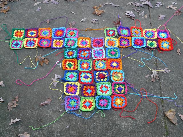 crochetbug, crochet squares, granny squares, granny square dress, crochet dress, crochet square
