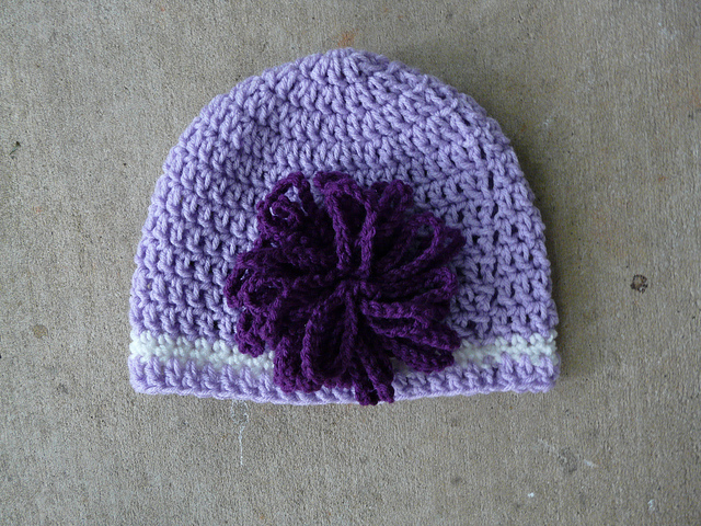 Legally Blonde crochet hat
