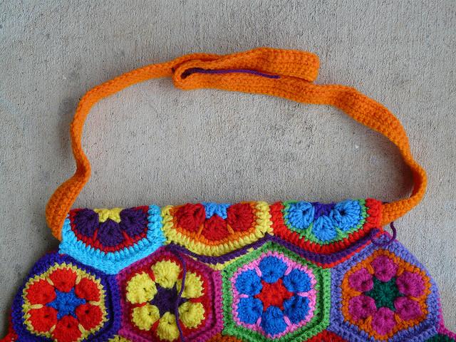 an unsuccessful crochet strap