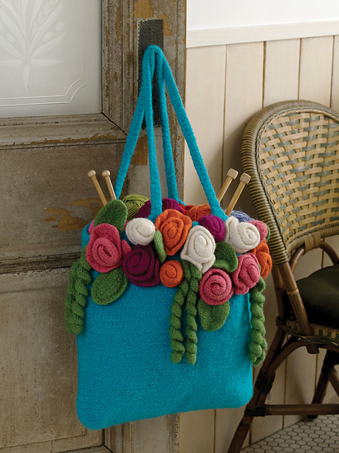 Red Heart Yarns Rose Garden Tote