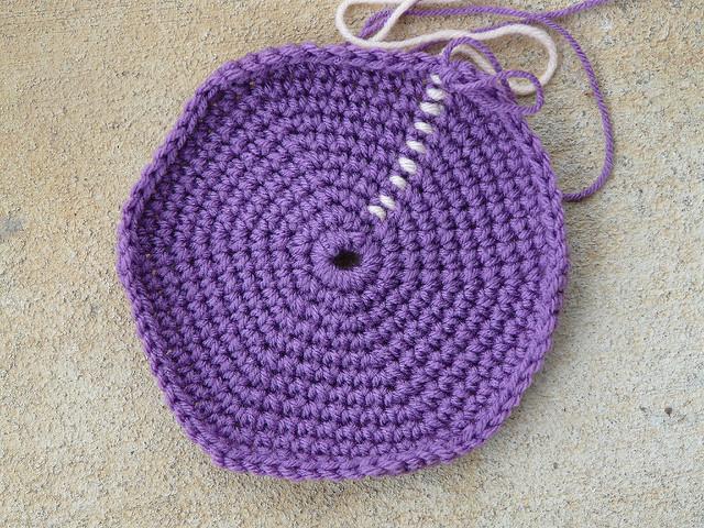 crochet stash bag crochet stash basket