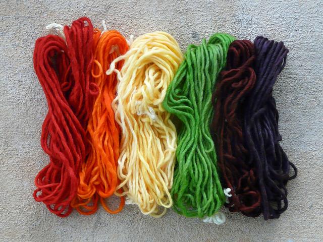 crochetbug, kool-aid yarn dyeing, kool-aid, yarn dyeing, color rehab for pale yarn