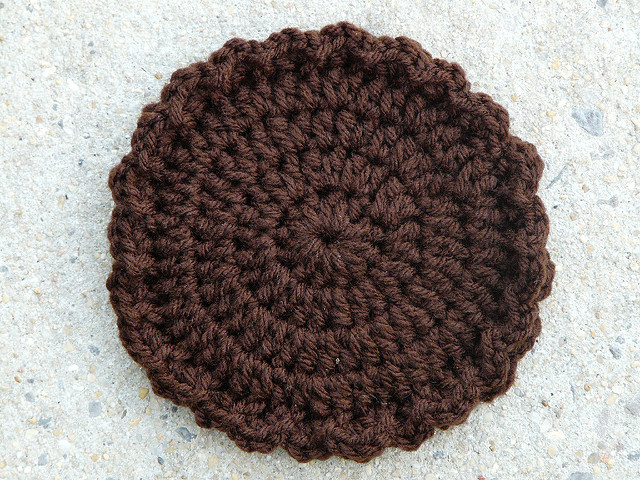 crochet MoonPie