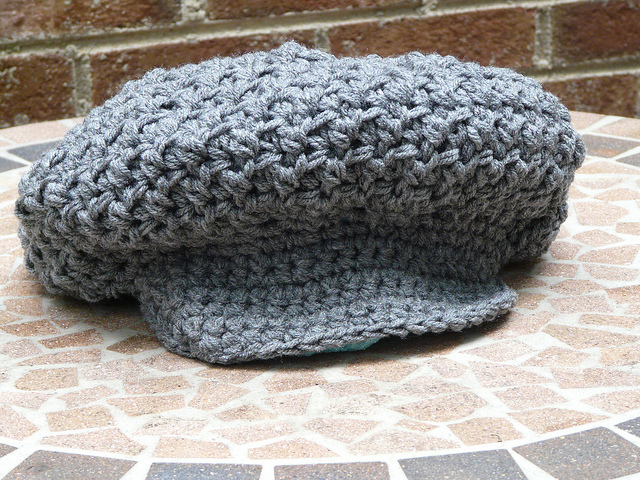 Notes On A Nubby Crochet Brimmed Hat Crochetbug