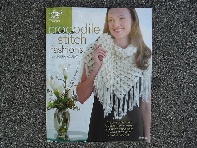 crocodile stitch crochet book