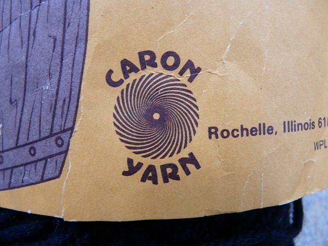 Caron yarn hypnotic logo
