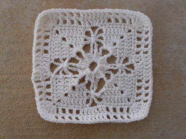 Seville crochet square