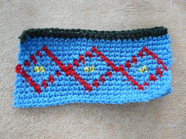 crochet square d-4