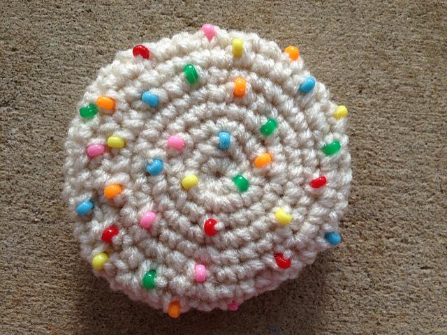 crochet sugar cookies
