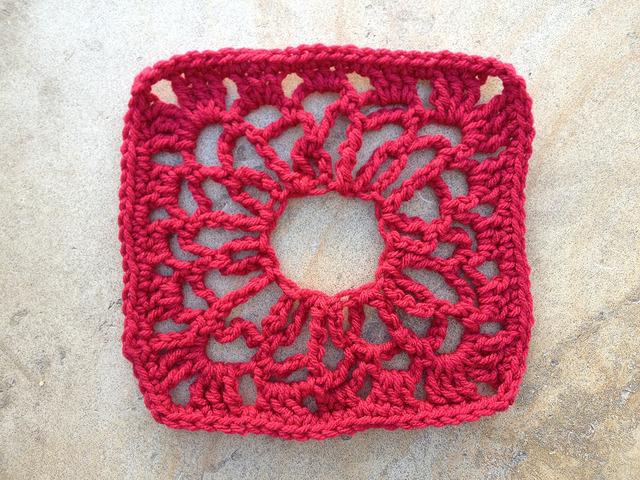 crochet square granny square