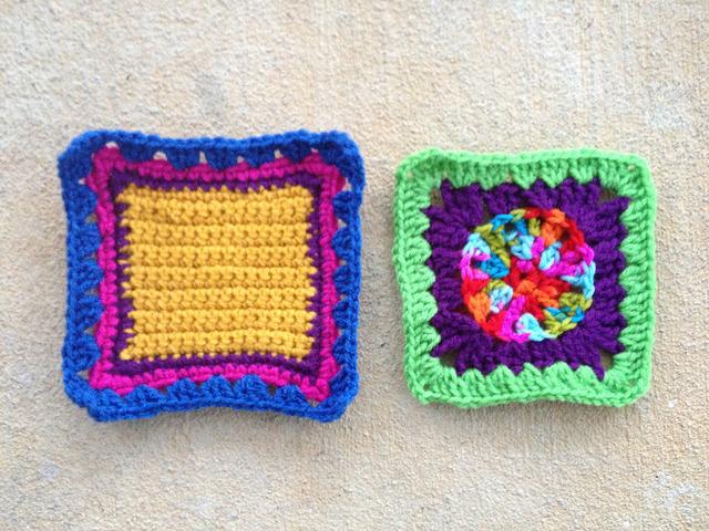 crochet fat bag crochet squares granny squares
