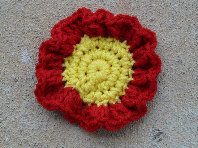 ruffled crochet