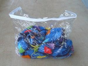 Mystery bag that I found in my yarn annex