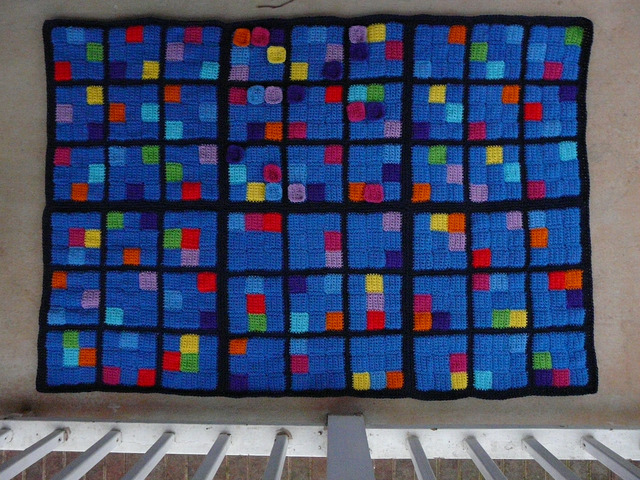 sudoku crochet puzzle