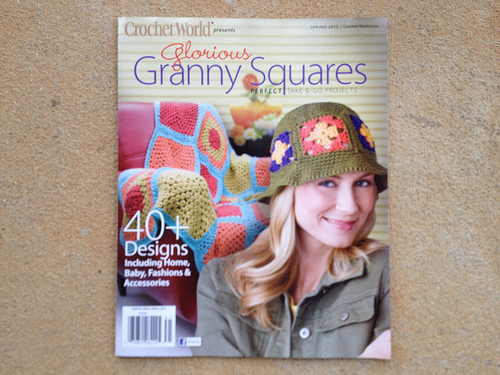 "Crochet World's ""Glorious Granny Squares"