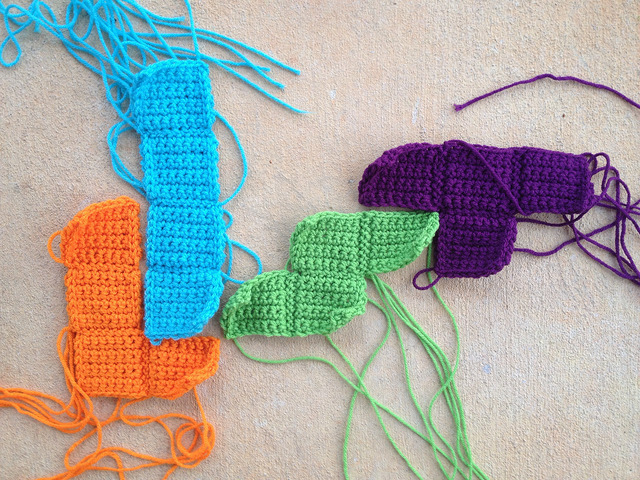 words with crochet tetrominos LIST