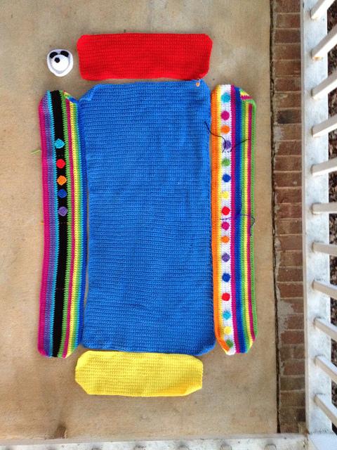 future crochet blanket