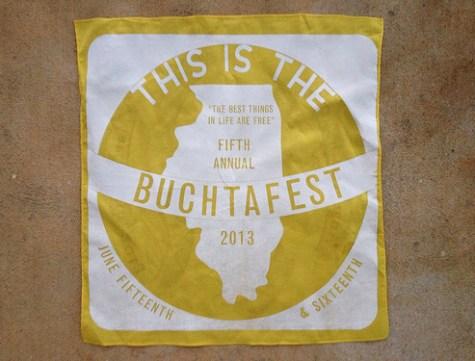 Buchtafest 2013 commemorative bandana
