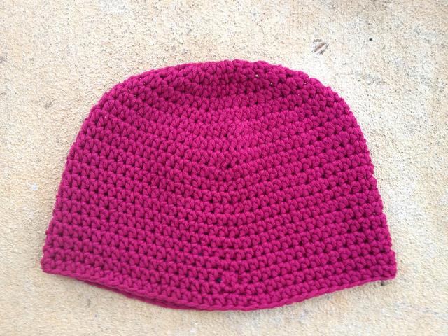 Headhuggers crochet pattern 22 before gathering 7666c5dbc38