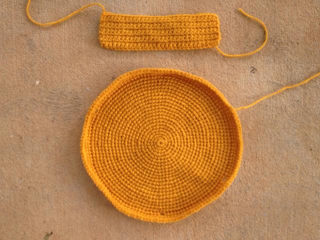 crochet taco purse