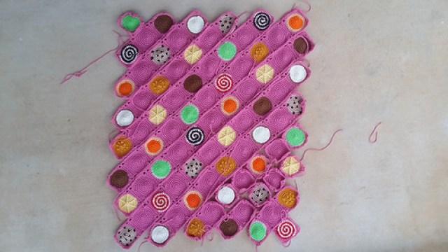 crochet squares crochet cookies