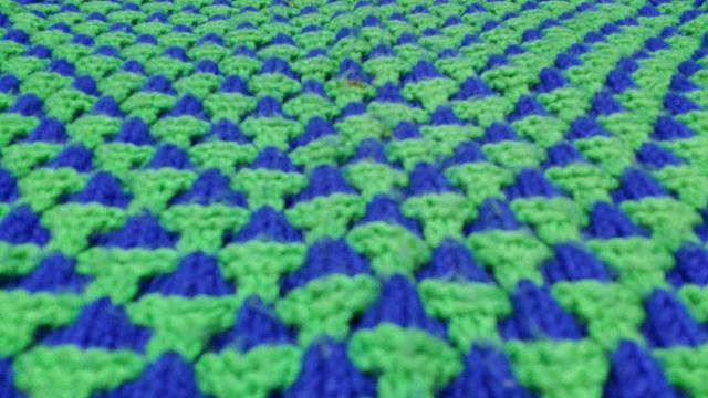 hand knit sweater, crochetbug, alice may, acrylic yarn,  garter stitch, color work