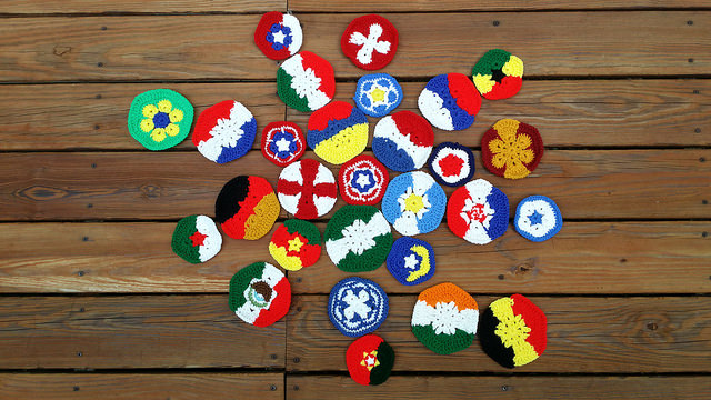 crochet soccer ball crochet pieces