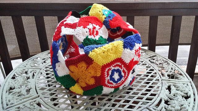 crochet soccer ball