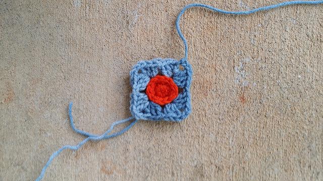 crochet square crochet circle motif