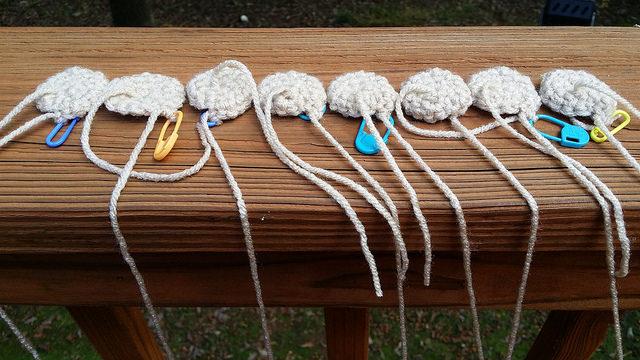 eight future crochet chair leg socks