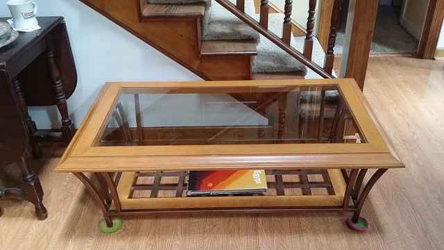 a table transformed