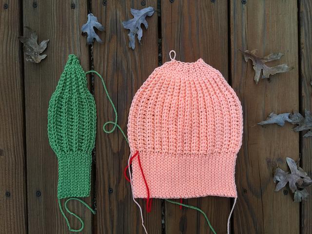 two future crochet hats