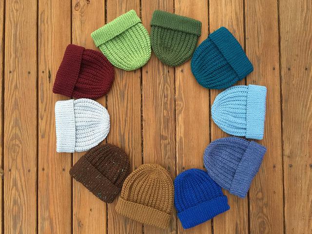 ten crochet hats