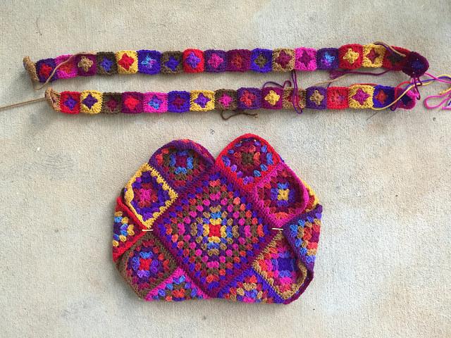 crochet purse