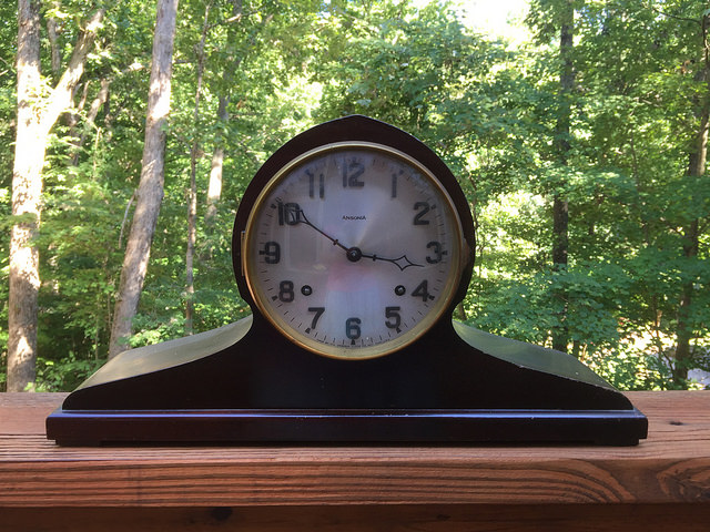 clock wedding gift