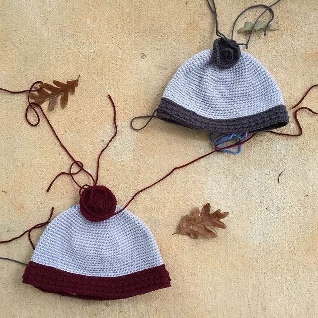 crochet circles on viking crochet helmets