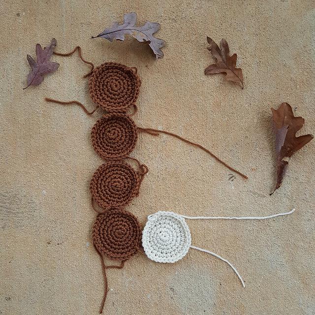 crochet cookies for a crochet blanket