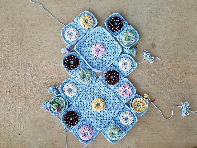 crochet donut crochet purse
