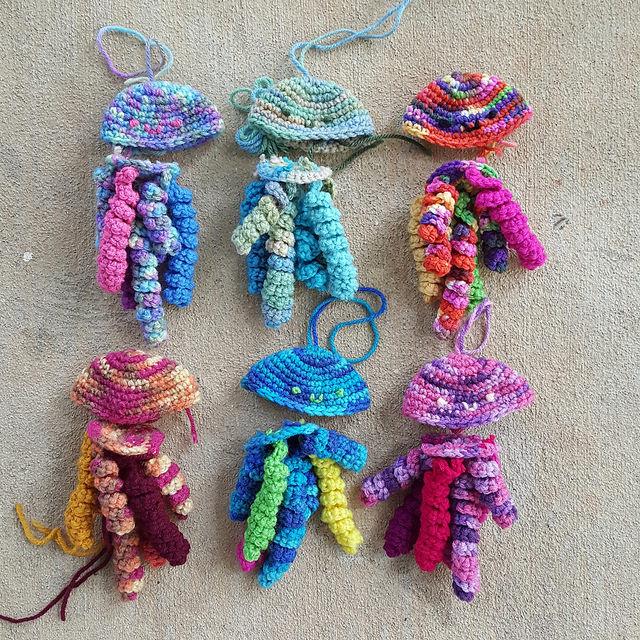 future crochet jellyfish