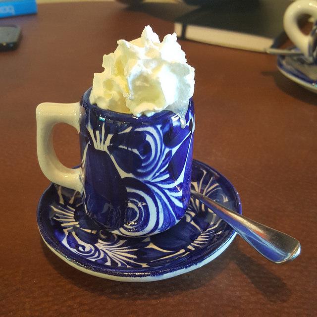 crochetbug, hot chocolate, kakawa chocolate house, santa fe, new mexico