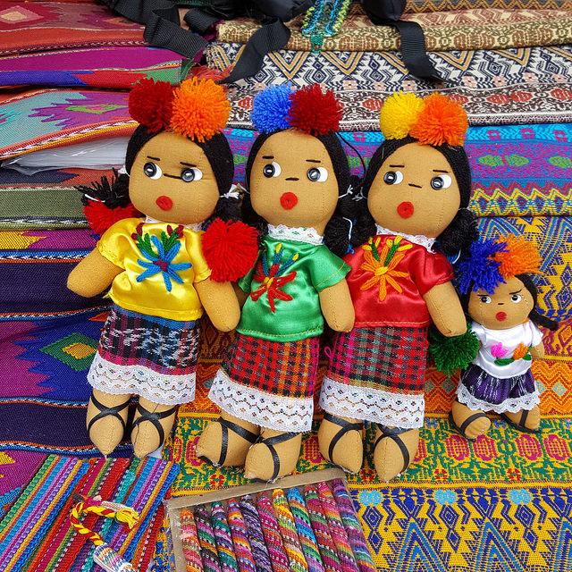 crochetbug, Handmade Kachina dolls, Santa Fe Plaza, New Mexico
