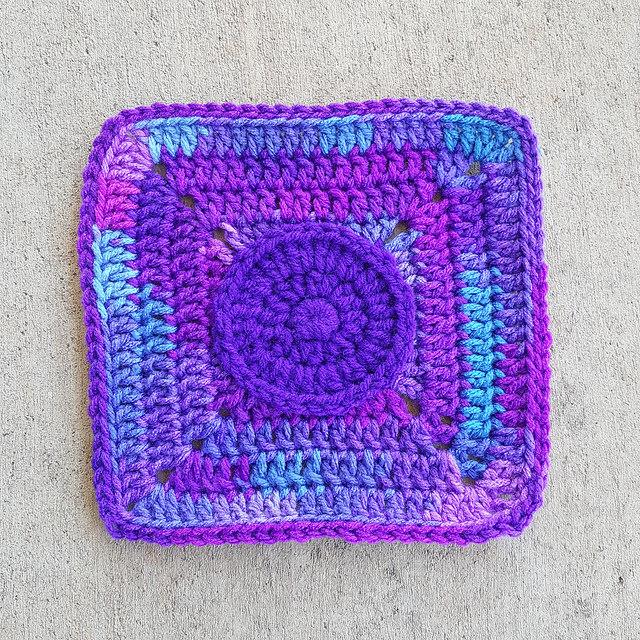 crochetbug, crochet squares, crochet roses, textured crochet , crochet squares, crochet motif