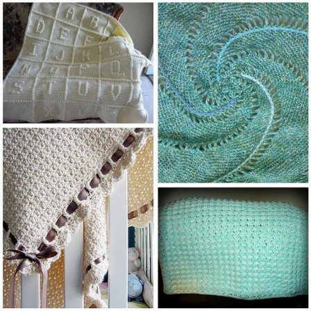 Post image for 15 Most Popular Free Crochet Baby Blanket Patterns