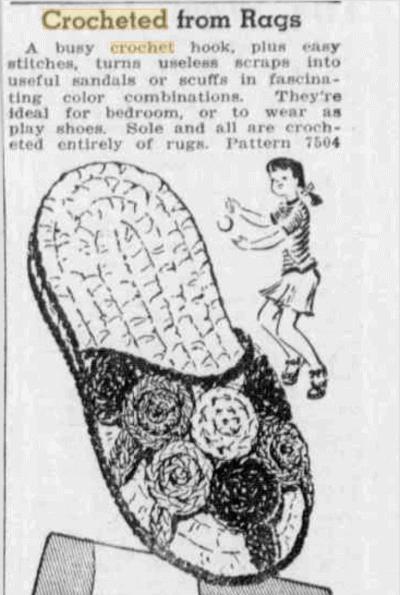Vintage Crochet History: 1944