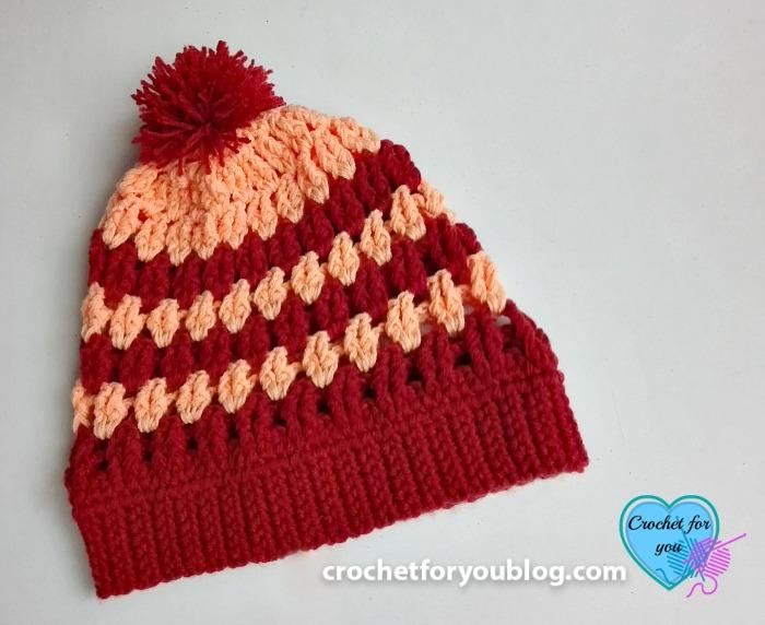 Roana Slouchy Beanie - free crochet pattern