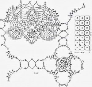 Crochet Patterns Of Lace Tablecloth ⋆ Crochet Kingdom